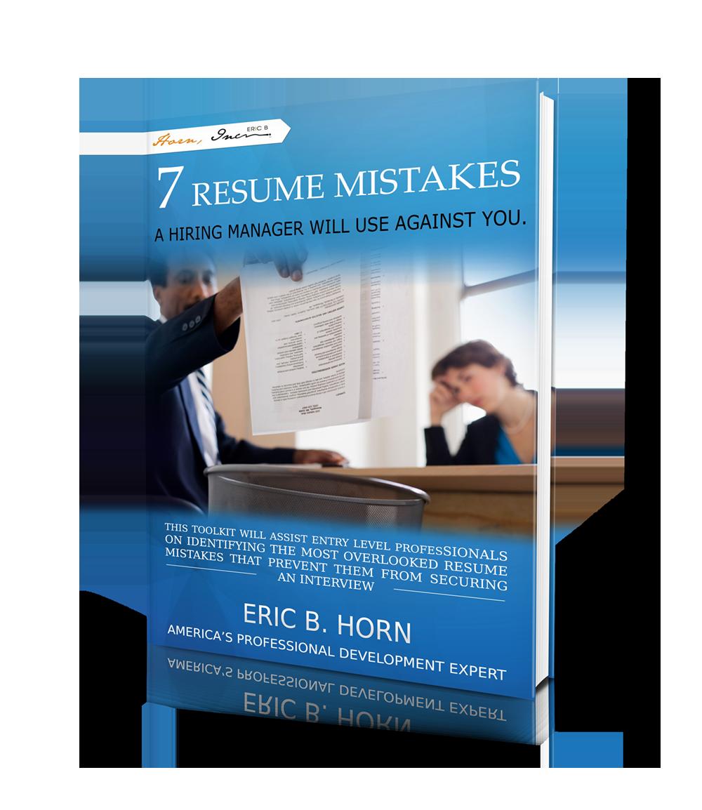 7 Resume Mistakes-EricBHorn